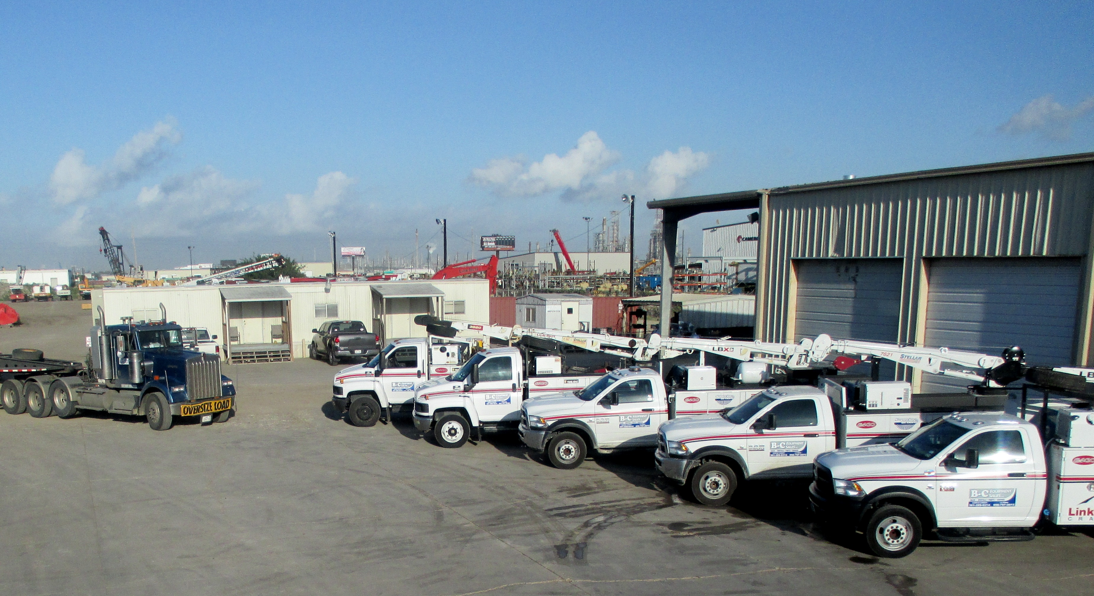 B-C Equipment, Texas locations, carry multiple brands and products.