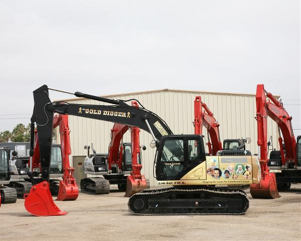 Gold Digger Project B-C Equipment Dealership Texas